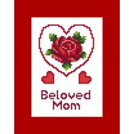 W 8473 Online pattern - Occasional card - Mother's Day