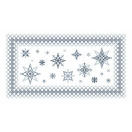 Online pattern - Napkin with stars