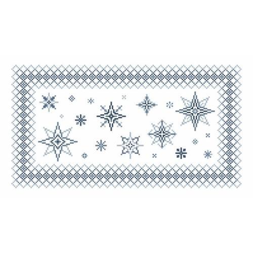Online pattern - Napkin with stars