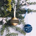 Online pattern - Christmas balls