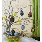 W 8508 ONLINE pattern pdf - Easter eggs - Colorful flowers