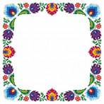 Pattern online - Napkin with ethnic motif