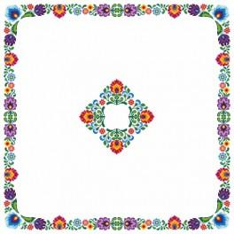 W 8539 Pattern online - Ethnic tablecloth