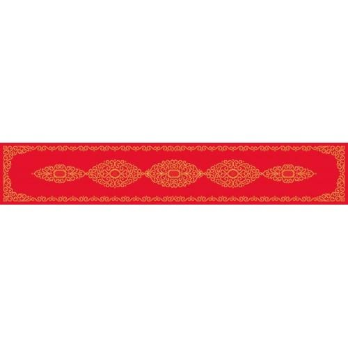 Pattern online - Table runner with arabesque