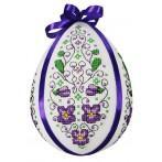 W 8583 Pattern online - Easter egg with violets