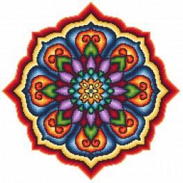 W 8591 Pattern online - Rosette III