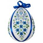 W 8594 Pattern online - Easter egg with forget-me-not