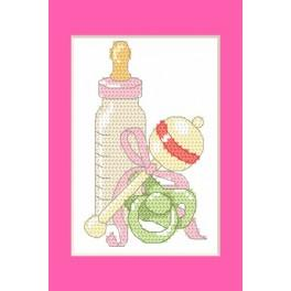 W 8615-01 Pattern online - Greeting card -