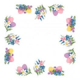 Pattern online - Napkin - Spring accents