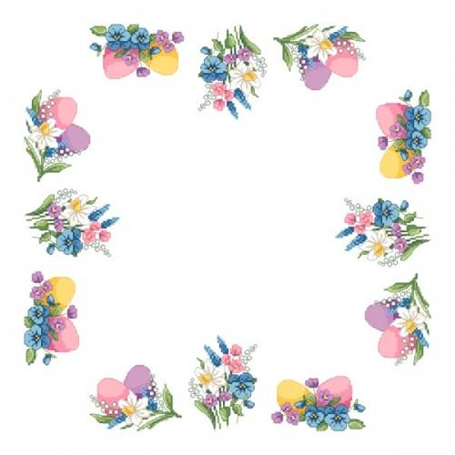 Pattern online - Napkin - Spring accents