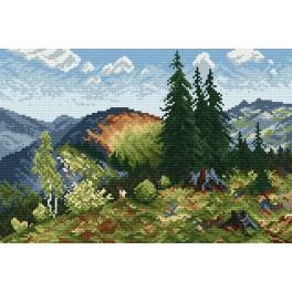 W 863 Online pattern - Summer in the Tatra Mountains