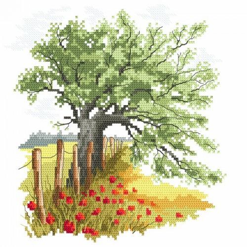 Pattern online - Secrets of an old oak tree