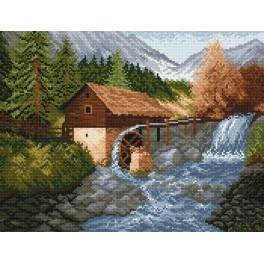 W 870 Online pattern - Water-mill