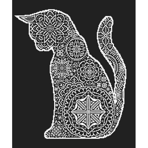 Pattern online - Lace cat