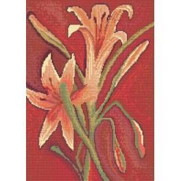 Online pattern - Lillies