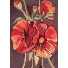 Online pattern - Poppies
