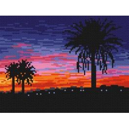 Online pattern - Sunset