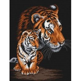 Wild cats - Tapestry canvas