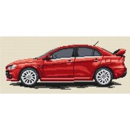 Mitsubishi Lancer - Tapestry canvas