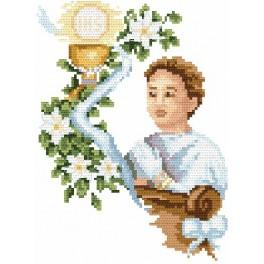 My holy communion- boy - B. Sikora - Tapestry canvas