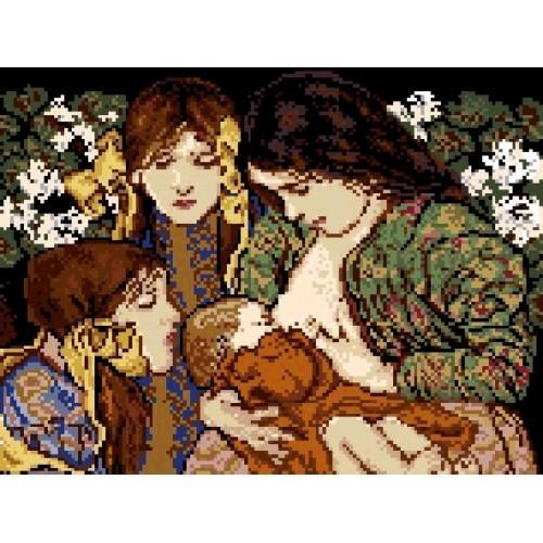 Motherhood - Tapestry canvas