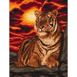 Tiger - Tapestry canvas