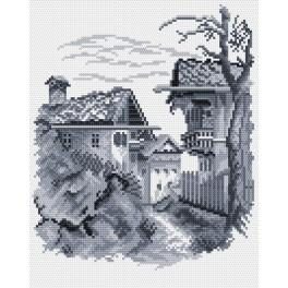 Little town - Tapestry canvas