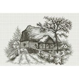 Village - Tapestry canvas