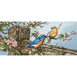 Birds - Tapestry canvas