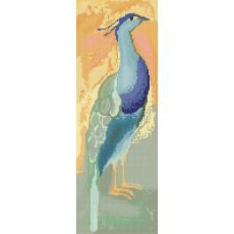 India peacook - Tapestry canvas