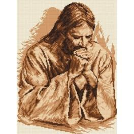 The prayer of Jesus - Tapestry canvas