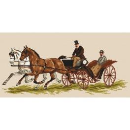 Carriage - Tapestry canvas