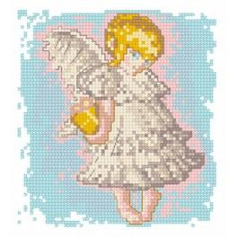 Angel 3 - Tapestry canvas
