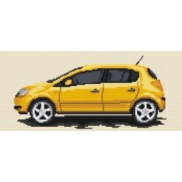 4176 Opel Corsa - Tapestry canvas