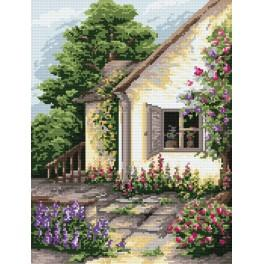 A Quiet Garden - Tapestry canvas