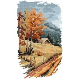 Four seasons - autumn - B. Sikora-Malyjurek - Tapestry canvas