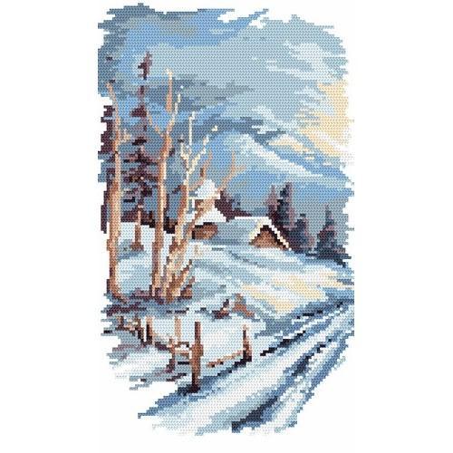 Four seasons - winter - B. Sikora-Malyjurek - Tapestry canvas