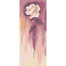 White Rose - B. Sikora-Malyjurek - Tapestry canvas