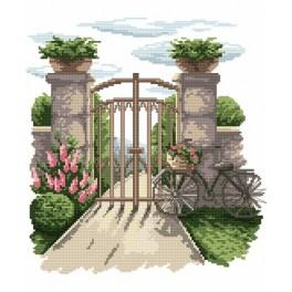 The secret garden - Tapestry canvas