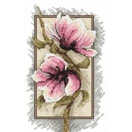 B.Sikora-Małyjurek - Magnolias - tree flowers - Tapestry canvas