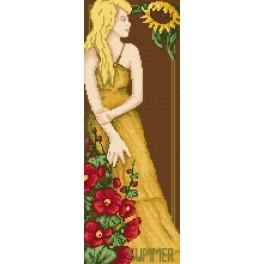 Woman - Summer - B. Sikora-Malyjurek - Tapestry canvas