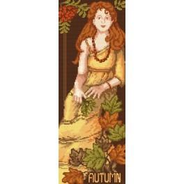 Woman - Autumn - B. Sikora-Malyjurek - Tapestry canvas