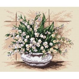 Lilies of the valley - Tapestry canvas