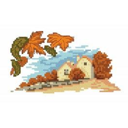 Autumn - Tapestry canvas