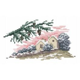 Winter - Tapestry canvas