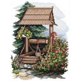 4566 Well - Tapestry canvas