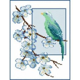 Blue dreamer - B. Sikora - Tapestry canvas