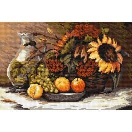 Still life - B. Sikora-Malyjurek - Tapestry canvas