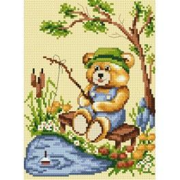Fishing - Tapestry canvas