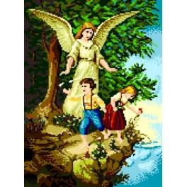 Guardian Angel - Tapestry canvas